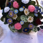 Knitted flower basket from Best in Show