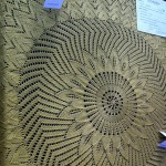 Knitted circular shawl from Best in Show